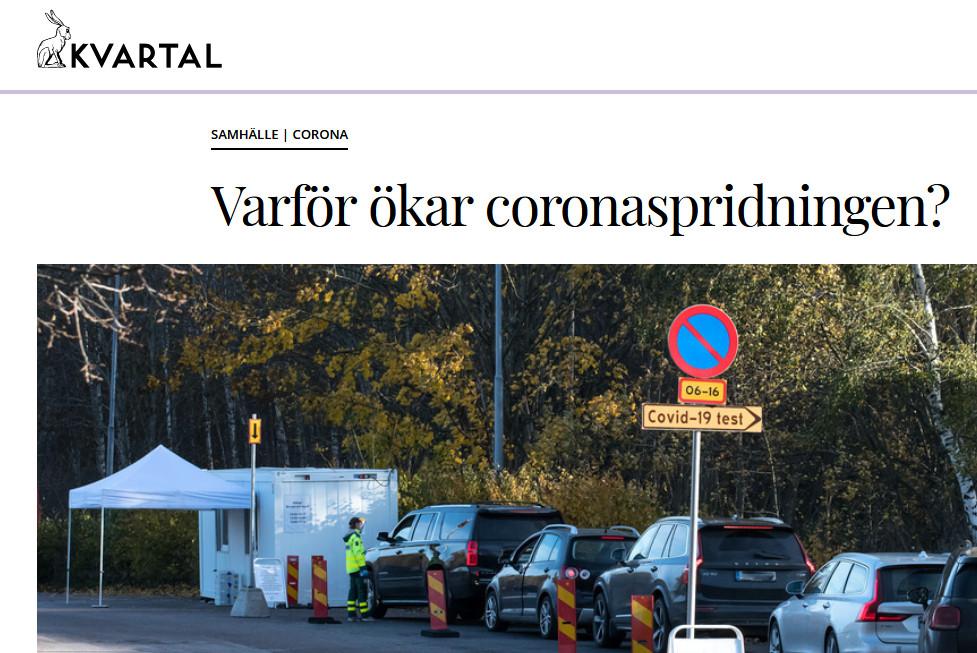 I Kvartal om andra vågen av covid-19.